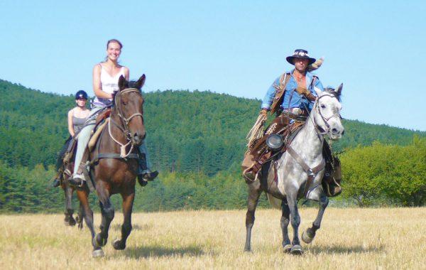 Horse-riding tourism